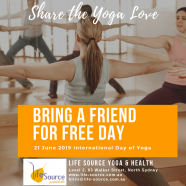BRING A FRIEND FOR FREE – 21 JUNE 2019